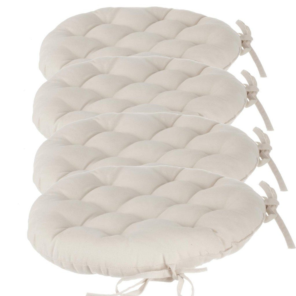 Coprisedie in tessuto bianco per avere pi luminosit in for Coprisedia bianco ikea