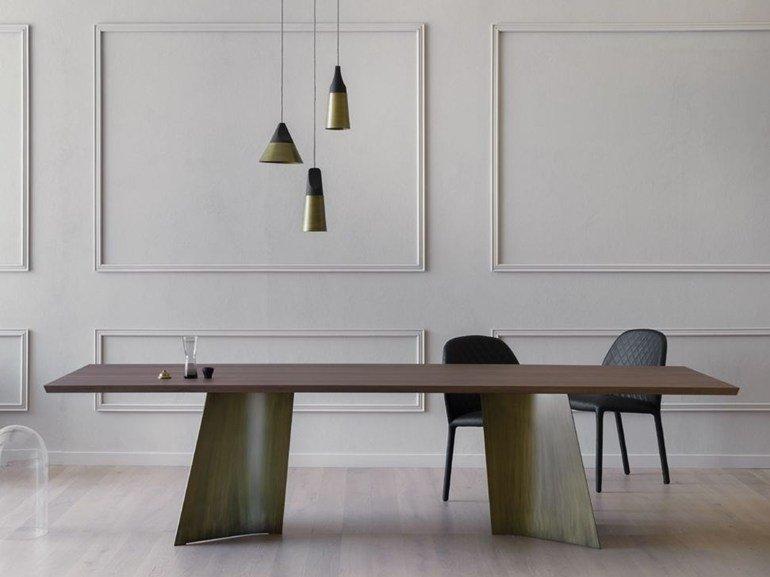 maggese - tavolo rettangolare