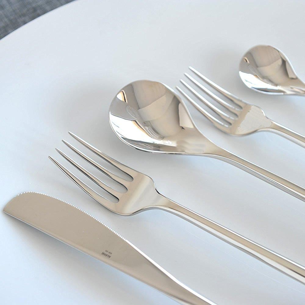 Posate in acciaio stile e design in tavola prezzi online - Posate da portata ...