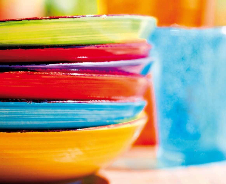 Photo of I piatti colorati donano brio alla vostra tavola