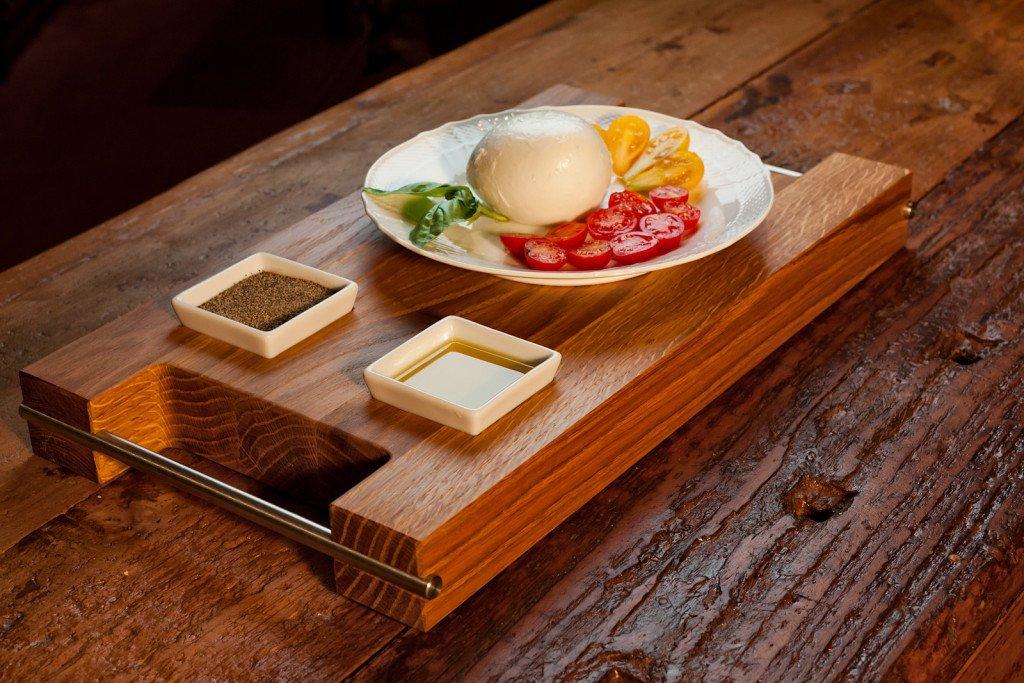 taglieri in legno dal sapore orientale