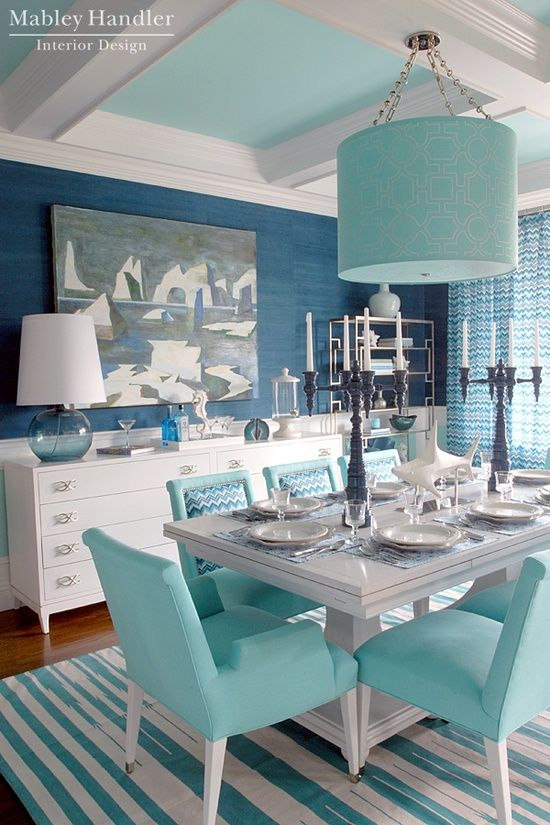 color tiffany interior design
