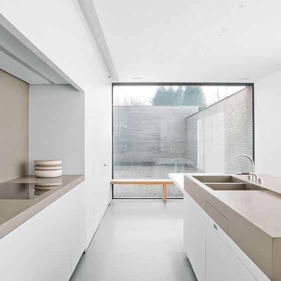 colore beige in cucina