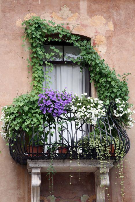 Balcone fiorito idee