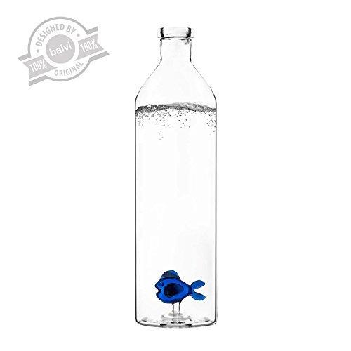 bottiglie per l'acqua blue-fish