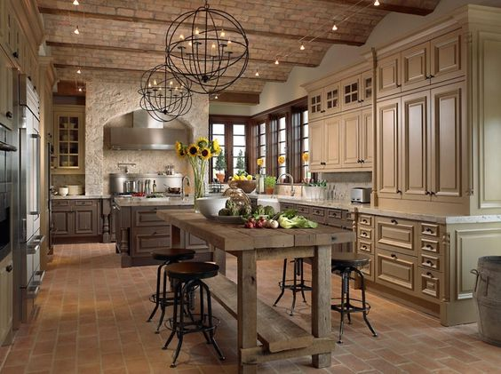 colore beige cucina country