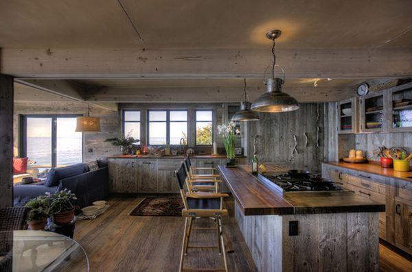 Cucine in legno: vantaggi e svantaggi, consigli e foto di esempi ...