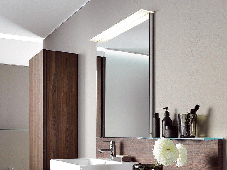Specchio luce bagno delos2