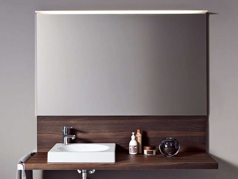 Specchio luce bagno delos4