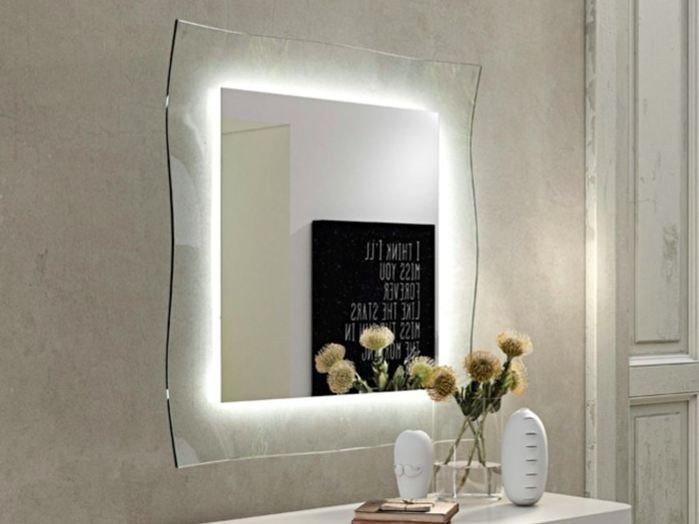 Specchio luce bagno ginevra