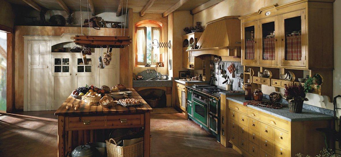 Cucine rustiche idee foto di esempi e consigli d 39 arredo - Cucine english style ...
