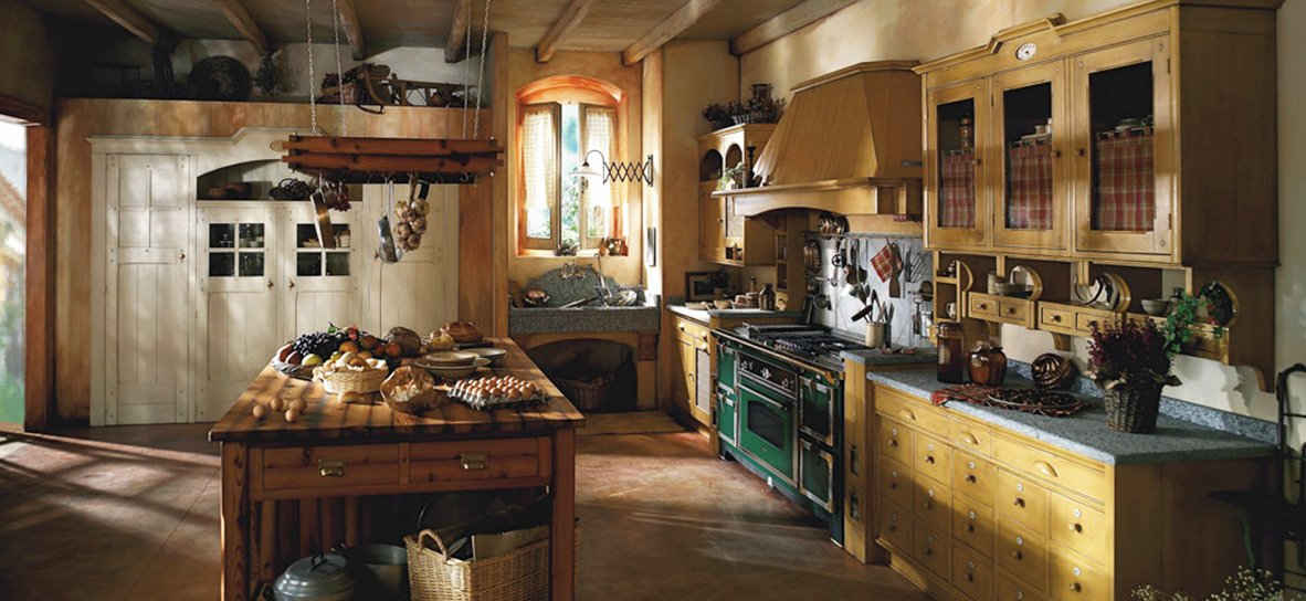 Cucine rustiche idee foto di esempi e consigli d 39 arredo - Cucine marchi group ...