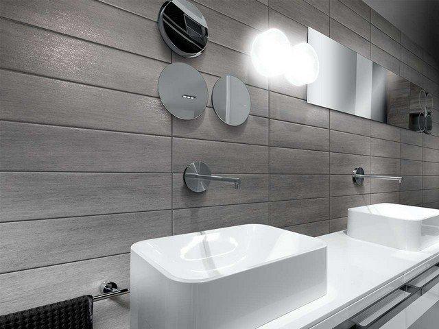 Bagno grigio: esempi e soluzioni di arredamento con foto