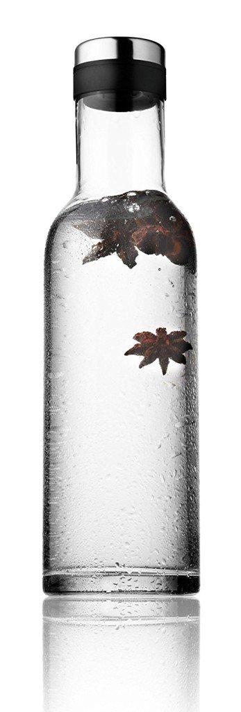 bottiglie per l'acqua menu