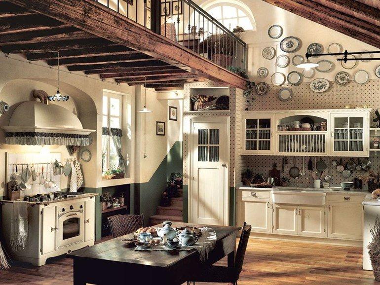 Cucine country: idee di arredamento con foto di esempio e consigli