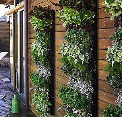 giardino verticale a sacche
