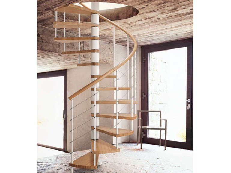 Fontanot scale in legno