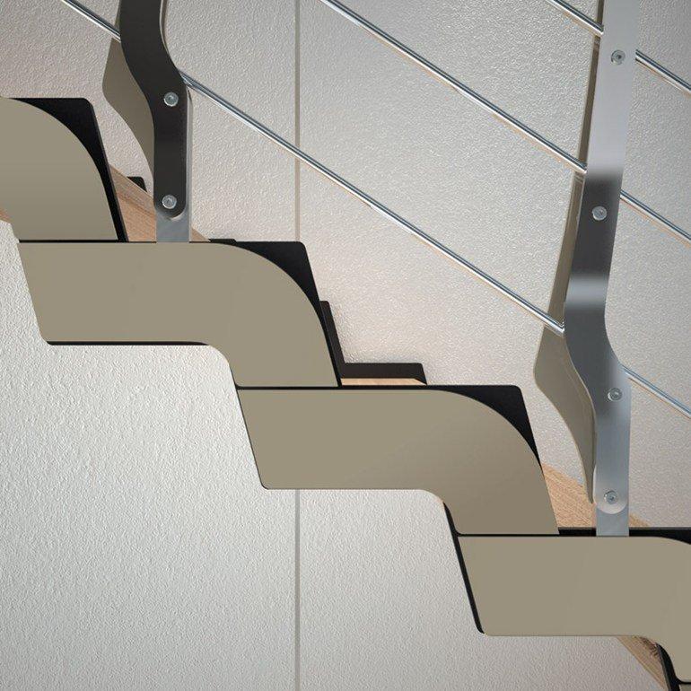 scale moderne dettaglio