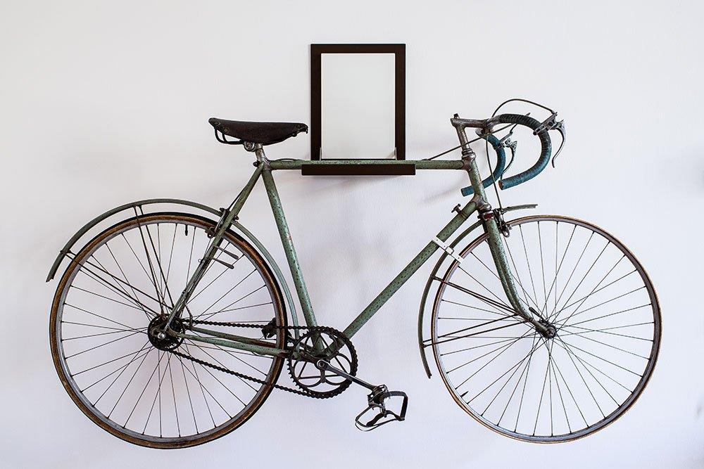 Porta biciclette da muro