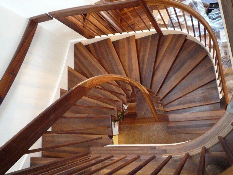 Scale in legno per interni forme e ispirazioni per la casa - Scale rivestite in legno per interni ...