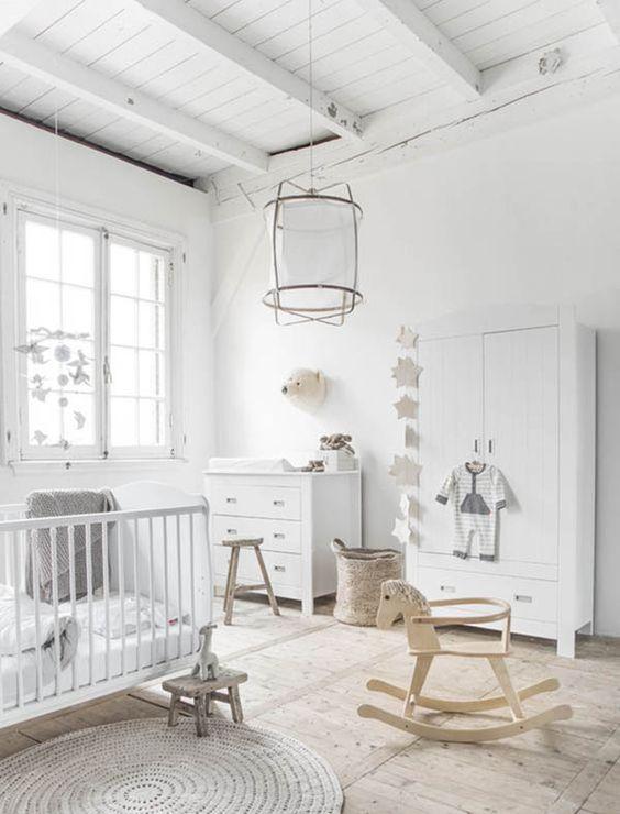 colore bianco stile nordico