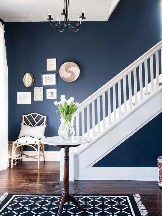 colore indaco pareti