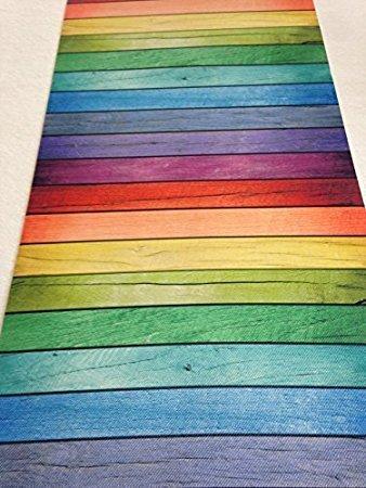 tappeto colori arcobaleno