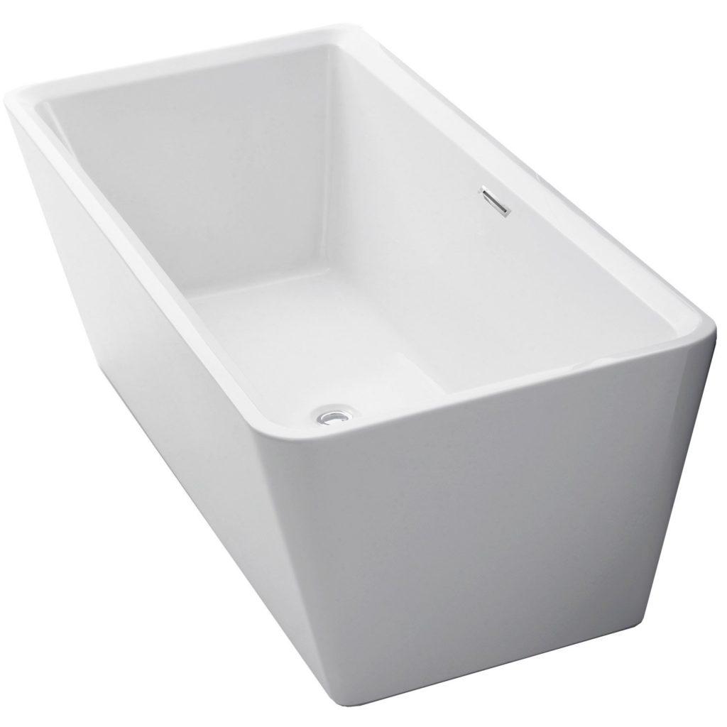 Vasca freestanding materiali forme misure e prezzi - Vasca da bagno piccola misure ...