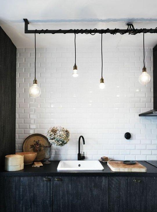 Illuminazione cucina: dai faretti ai lampadari, consigli e ...