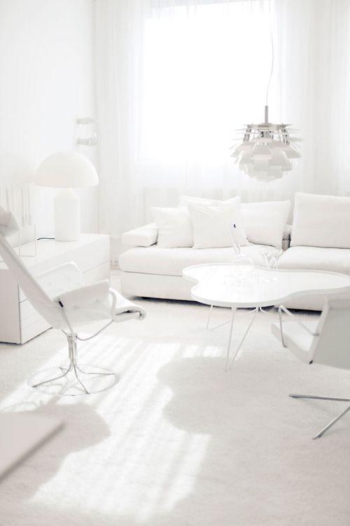 arredamento colore bianco