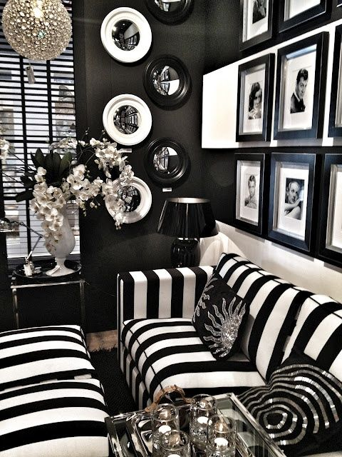 arredamento bianco e nero