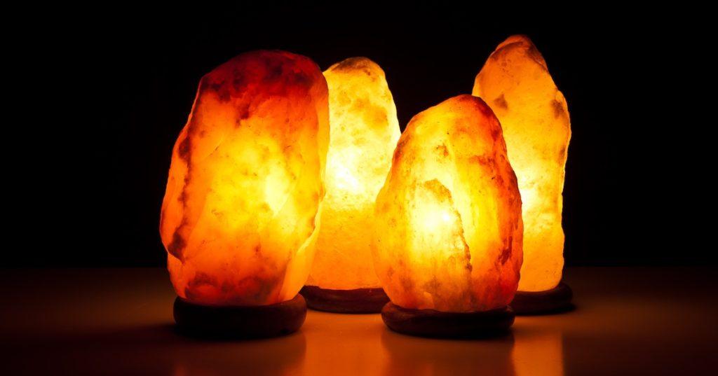lampada di sale