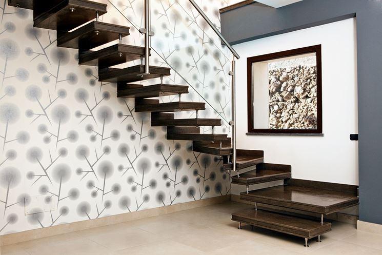 Rivestimento scale interne consigli e foto di esempi designandmore arredare casa - Foto scale interne ...
