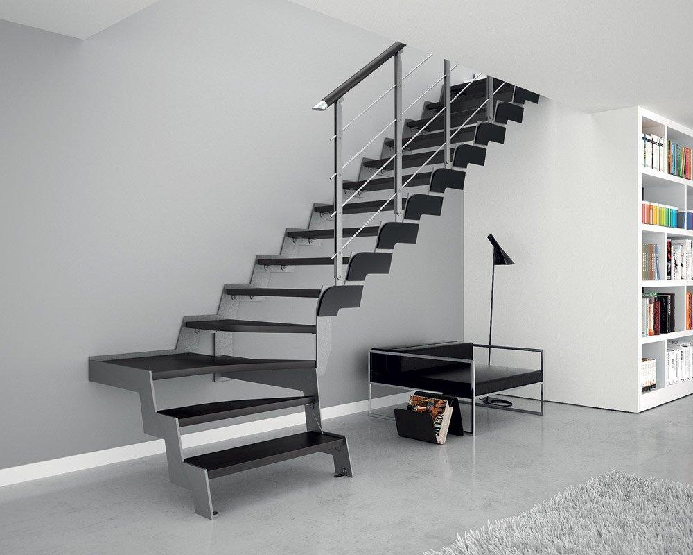 Rivestimento scale interne consigli e foto di esempi designandmore arredare casa - Scale interne in ferro ...