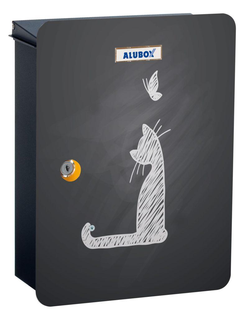 Cassetta alubox della posta