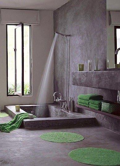 Costruire Vasca Da Bagno.Vasche In Muratura A Mosaico O In Cemento Soluzioni E Idee