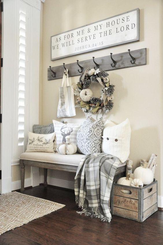 Shabby chic: arredamento interiors, per casa, mobili, cucine, tende