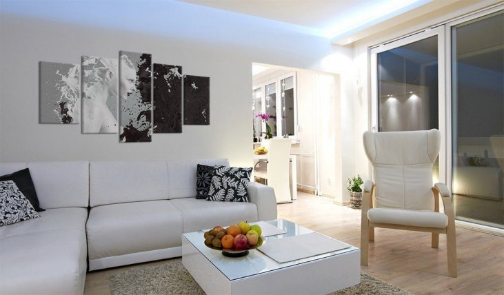 Quadri moderni su tela, astratti, Ikea: tante proposte anche ...