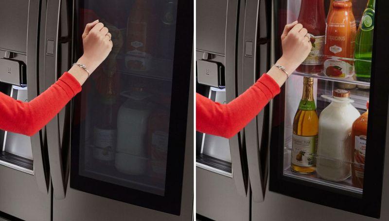 frigoriferi lg: dettagli