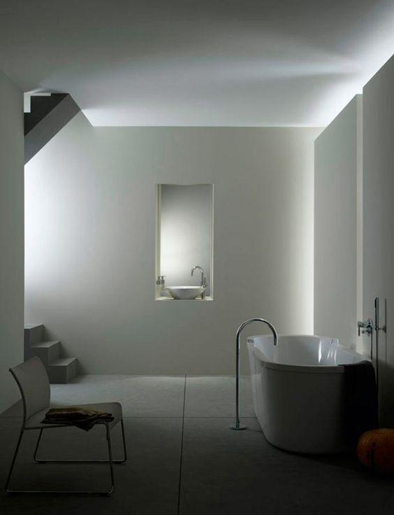 Illuminazione bagno suggerimenti e prodotti online designandmore arredare casa - Illuminazione bagno moderno ...