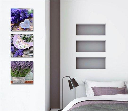 Quadri shabby chic: per living e camera da letto, Ikea e ...