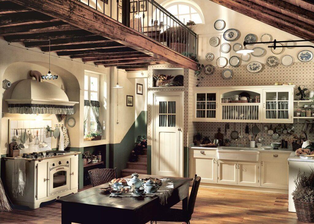 Cucine stile inglese come arredare esempi e modelli di for Arredamento cucina country