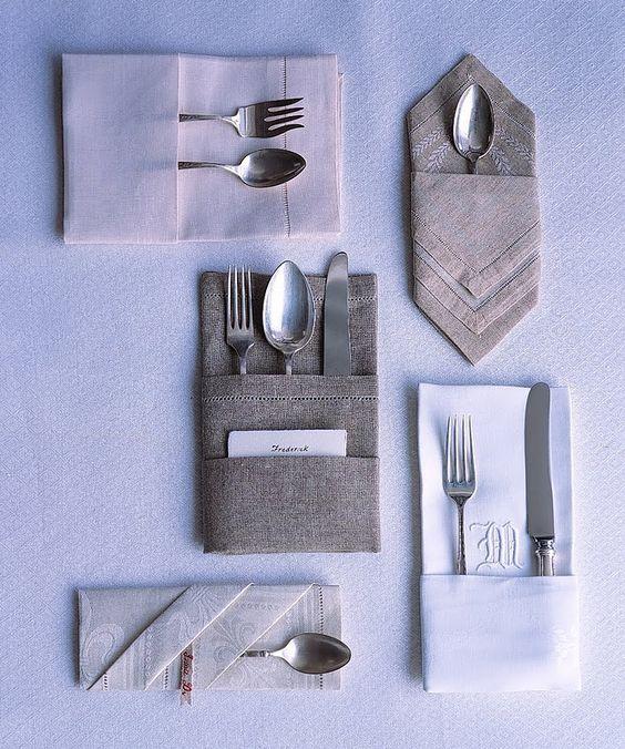 Favorito Come piegare i tovaglioli di stoffa e di carta: i nostri tutorial QV76