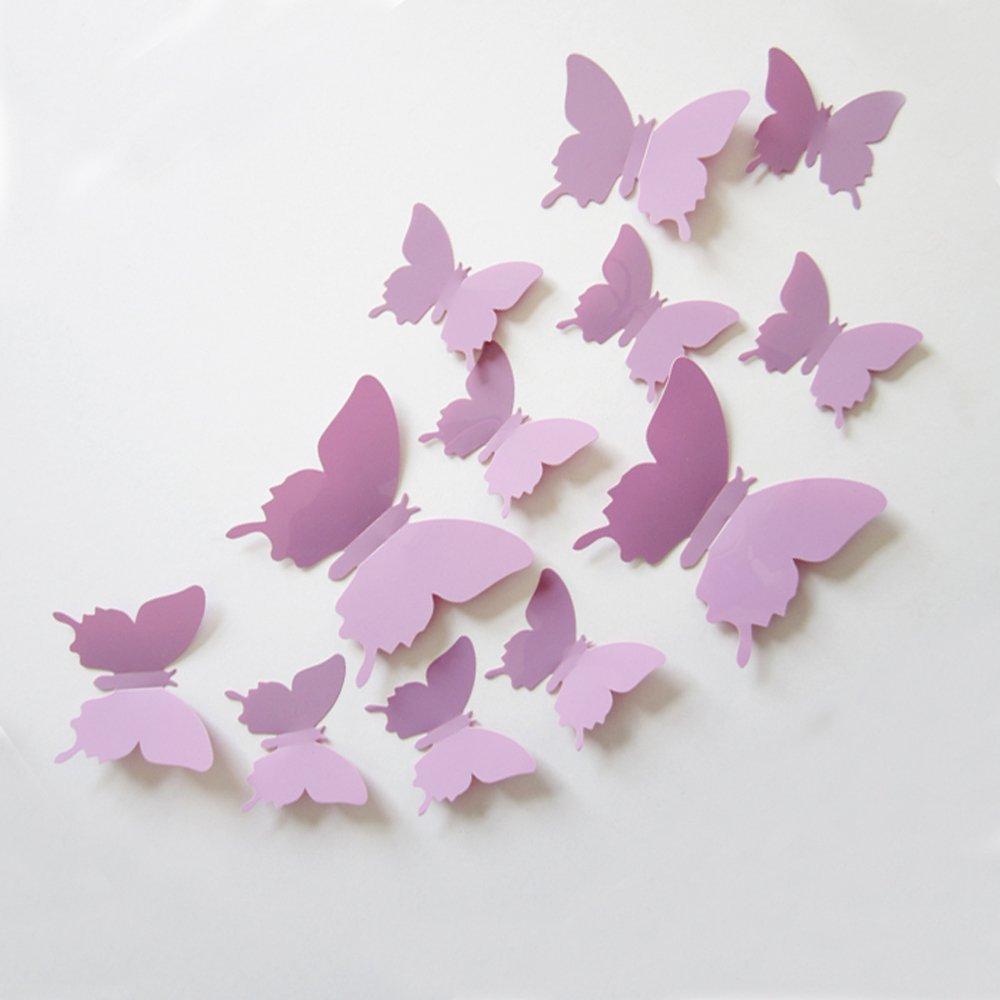 farfalle da parete in 3D
