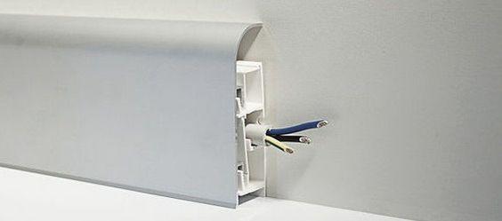 canalina per impianto elettrico esterno