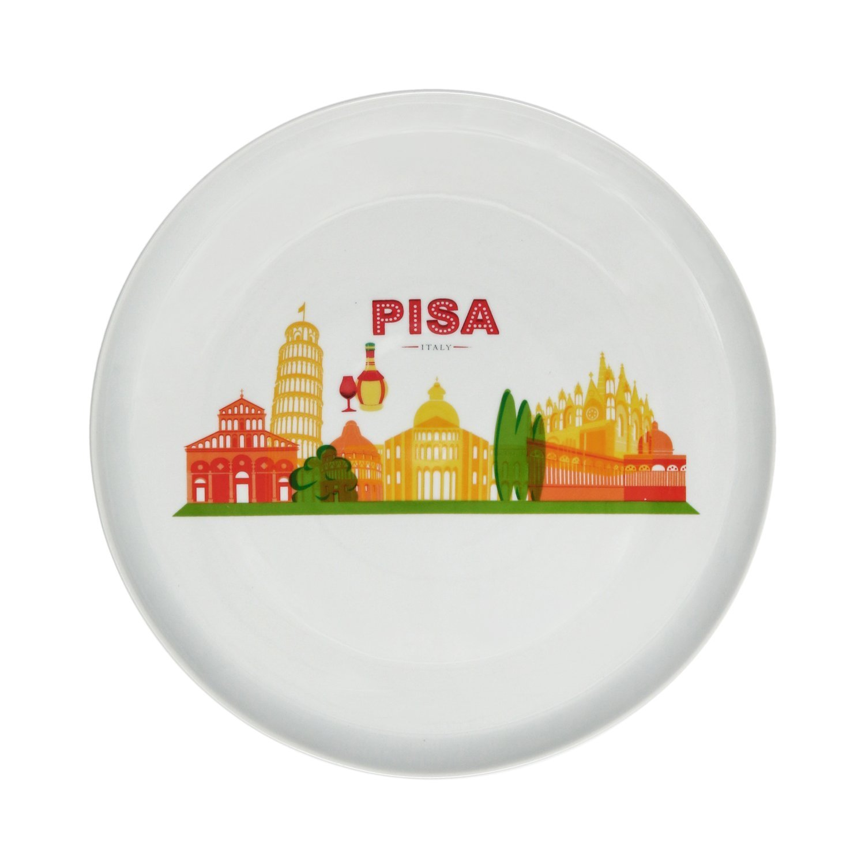 Piatti pizza colorati in legno kasanova prezzi online for Piatti kasanova