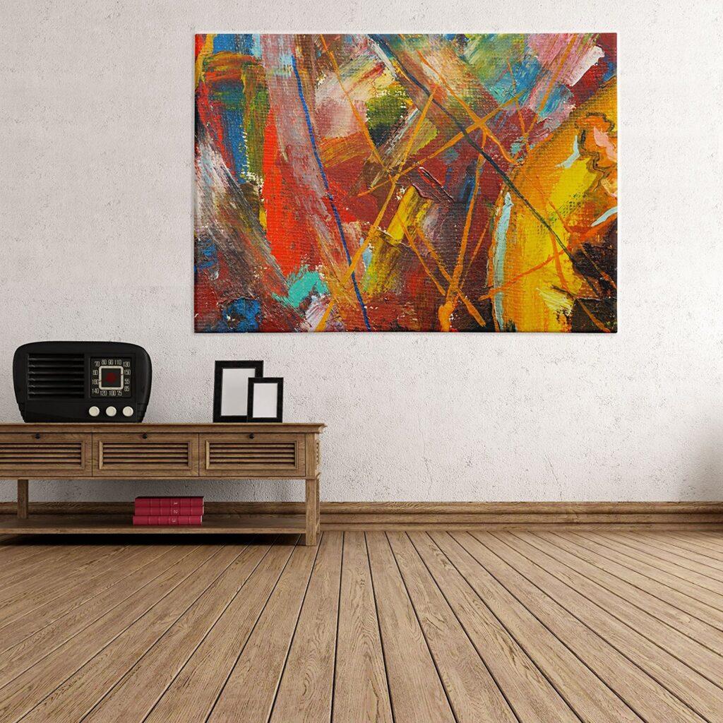 quadri moderni su tela astratti ikea tante proposte