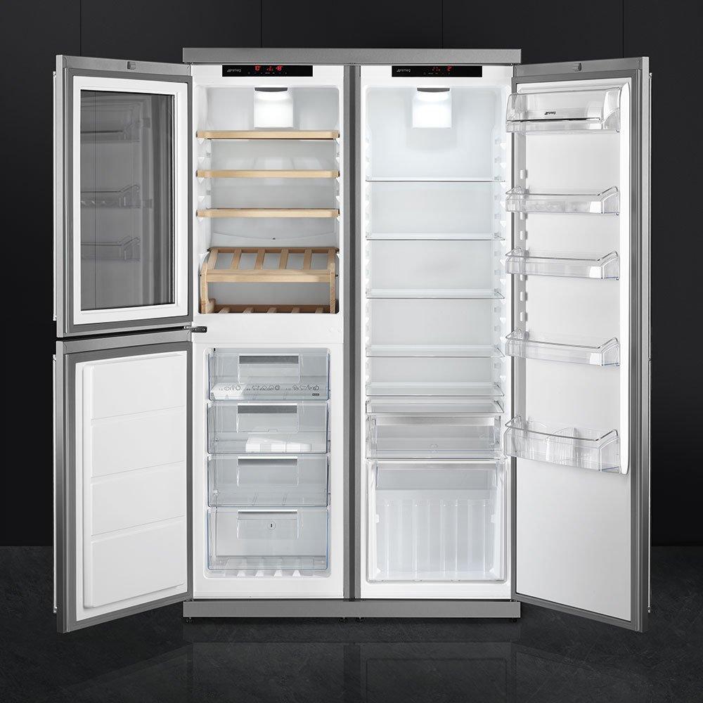 Frigoriferi smeg prezzi e modelli anche colorati e di design - Cucina frigo libera installazione ...