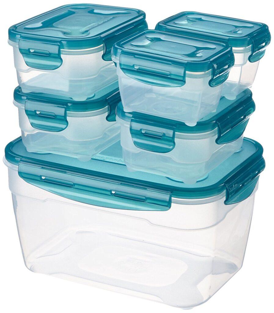 Contenitori per alimenti in plastica