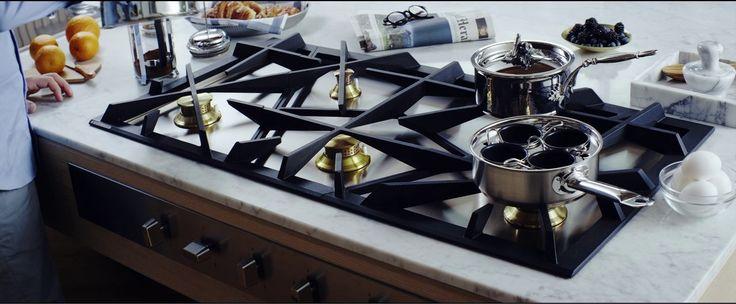 Cucina professionale per casa: Gas Hob Grand Cuisine